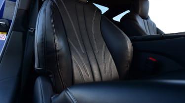 Lexus LC 500h - front seats
