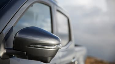 Mercedes X-Class review - wing mirror