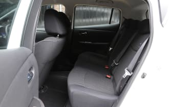 Used Nissan Leaf Mk1 - rear seats