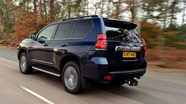 Toyota Land Cruiser - rear