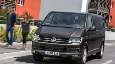 VW Caravelle - front driving