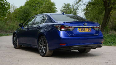 Lexus GS 450h F Sport - rear static
