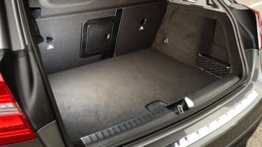 Mercedes GLA - boot side
