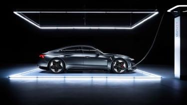 Audi RS e-tron GT - charging