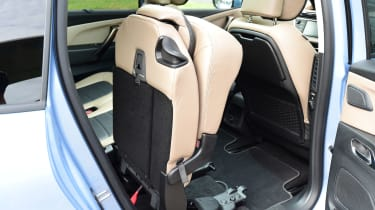 Citroen Grand C4 Picasso - seat practicality