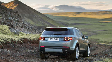 Land Rover Discovery Sport rear offroad