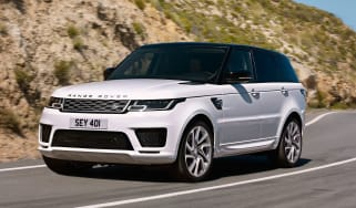 Range Rover Sport PHEV - front