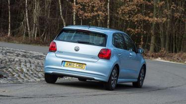 Volkswagen Polo - rear cornering