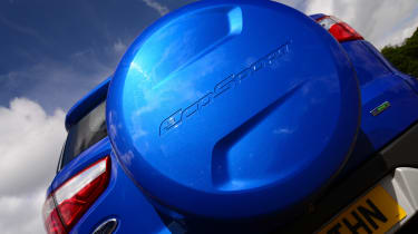 Ford EcoSport spare wheel