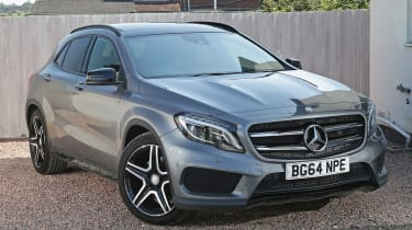 Used Mercedes GLA - front