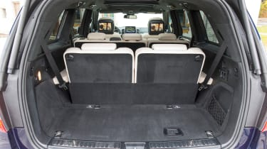 Mercedes GLS boot space