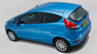 Used Ford Fiesta Mk7 - rear above