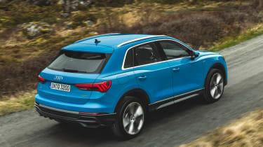 Audi Q3 - rear action