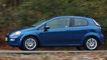 Fiat Punto profile