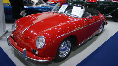 Porsche 356 at the London Classic Car Show