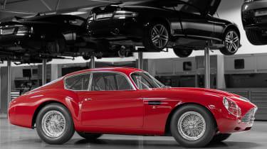 Aston Martin DB4 GT Zagato Continuation - side