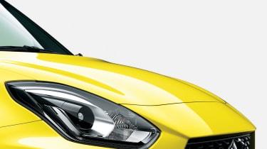 2018 Suzuki Swift Sport headlight detail
