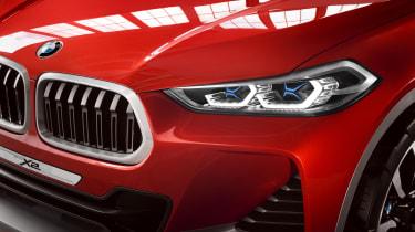 BMW X2 Concept - front detail 2