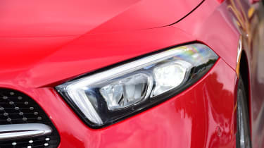 Mercedes A-Class - front light