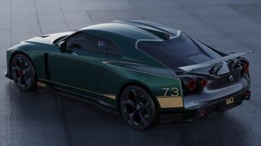 Nissan GT-R50 by Italdesign - green rear 3/4 static