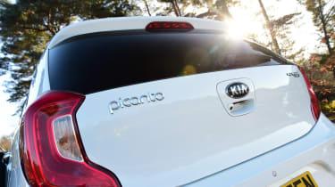 Kia Picanto - rear detail