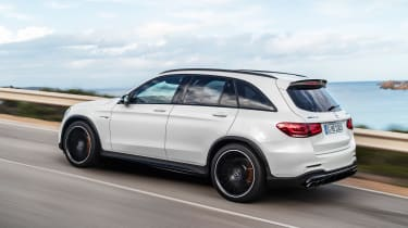 Mercedes-AMG GLC 63 - rear action