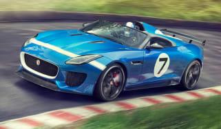 Jaguar F-Type Project 7 front left side