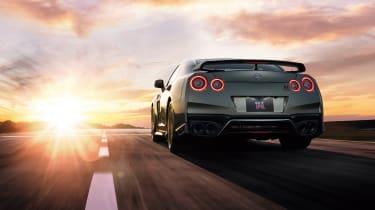 2022 Nissan GT-R - rear