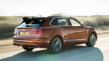 Bentley Bentayga Speed - rear action