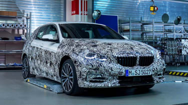 BMW 1 Series - prototype teaser front