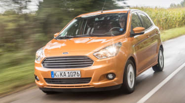 Ford Ka+ 2016 - front tracking