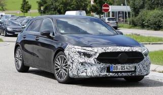 New 2022 Mercedes A-Class facelift