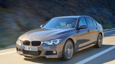 2015 BMW 3-Series facelift front