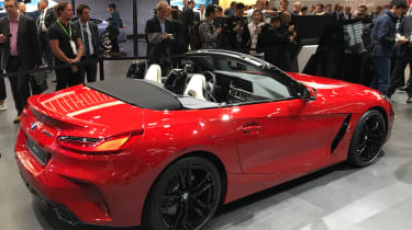 BMW Z4 - Paris - Rear 3/4 opposite
