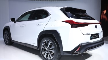 Lexus UX rear quarter