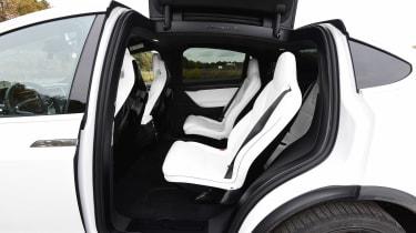 Tesla Model X - back seats