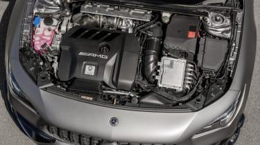 Mercedes-AMG CLA 45 Shooting Brake engine