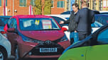 How to negotiate the price of a new car - Toyota Aygo forecourt