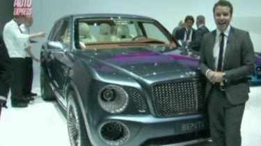 GENEVA 2012: Bentley EXP 9 F