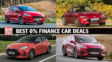 Best 0% finance car deals 2020 - header