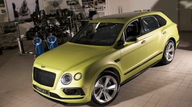 Bentley Bentayga Pikes Peak - front static