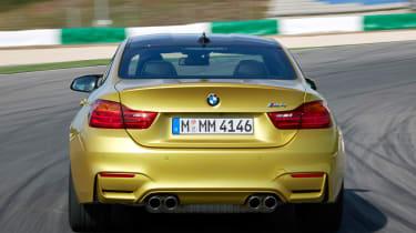 BMW M4 coupe rear