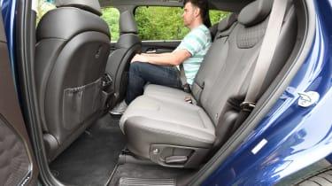 Hyundai Santa Fe - long-term first report rear seats
