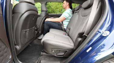 Hyundai Santa Fe - long-term first report rear seats