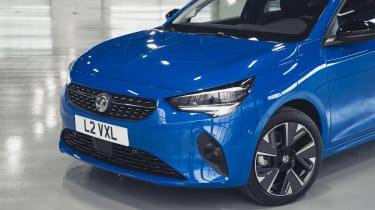 Vauxhall Corsa-e - front detail