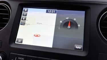 Hyundai i10 facelift 2017 - infotainment