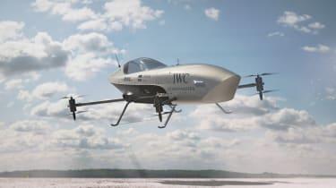 Airspeeder Mk3 - flying