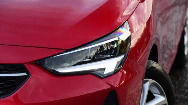 Vauxhall Corsa - headlight