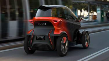 SEAT Minimo concept - rear action