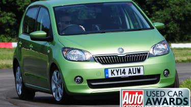 Used Car Awards 2016 - Skoda Citigo front cornering